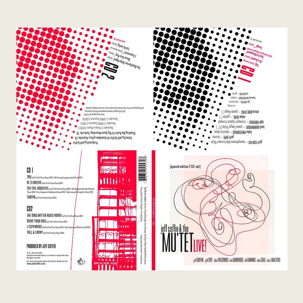 Jeff Coffin & The Mu'tet | Live! | EarUp Records (CD)