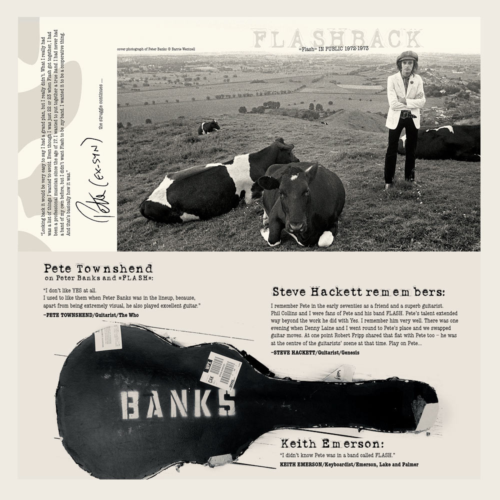 Flash (featuring Peter Banks) | In Public | AdequatEsounds (Booklet)