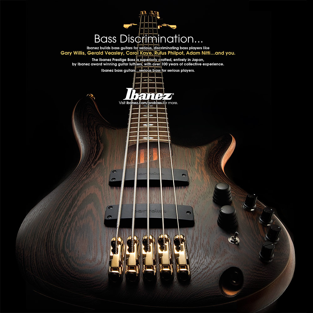 IBANEZ 5-STRING BASS AD