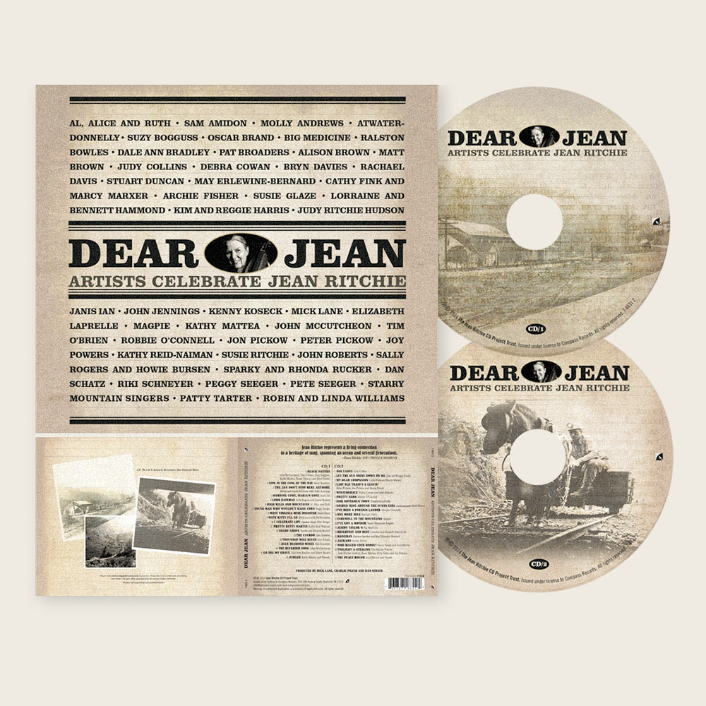 Dear Jean: Artists Celebrate Jean Ritchie | Compass Records (CD/Compilation)