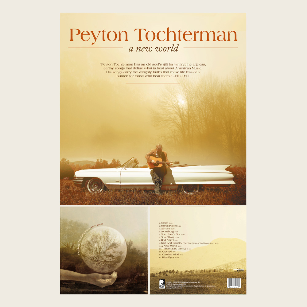 Peyton Tochterman | A New World | Black Wolf Records (CD)