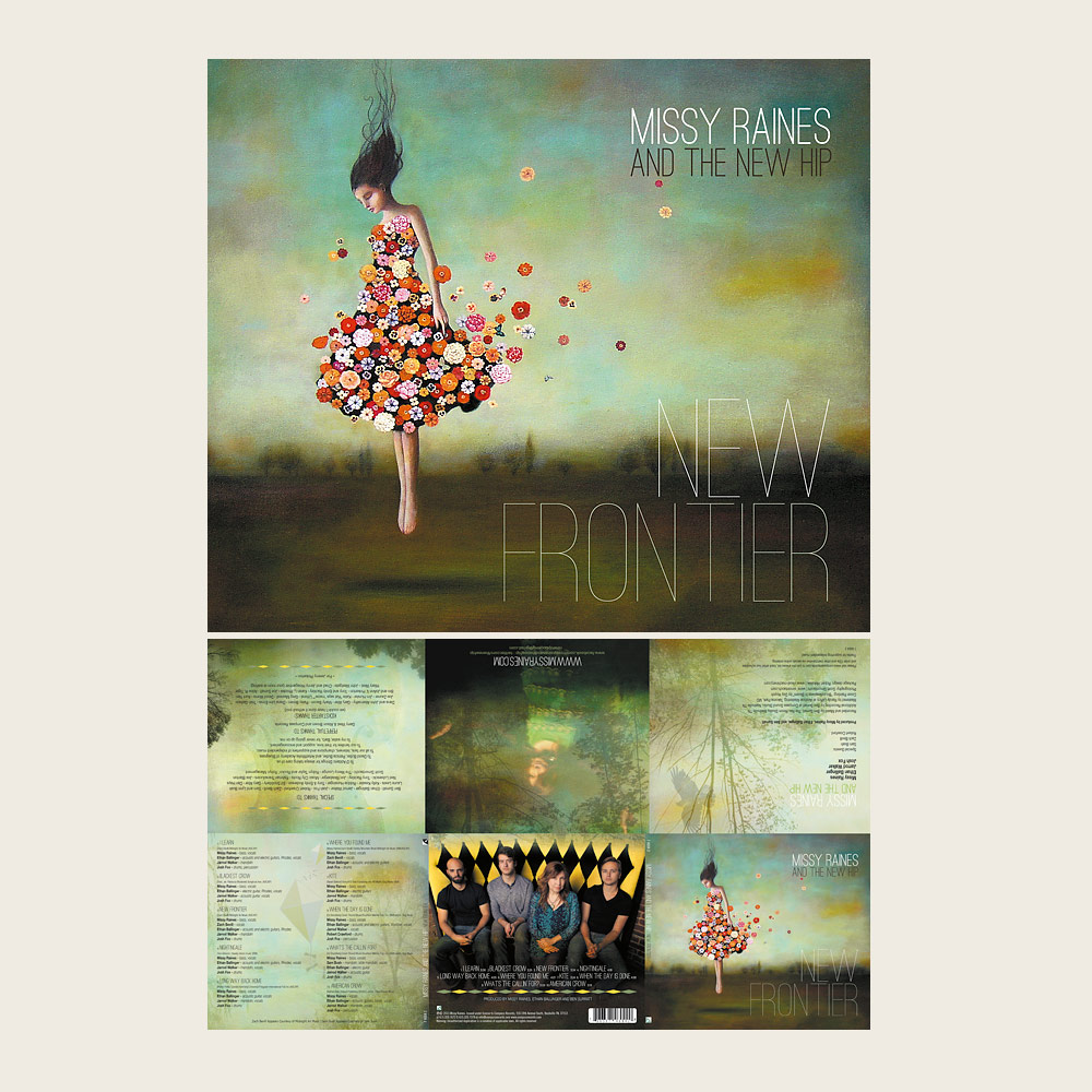 Missy Raines & The New Hip | New Frontier | Compass Records (CD)