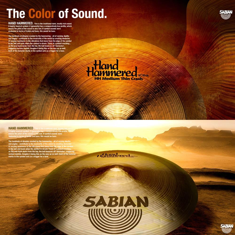 SABIAN CYMBALS | TRADE ADS