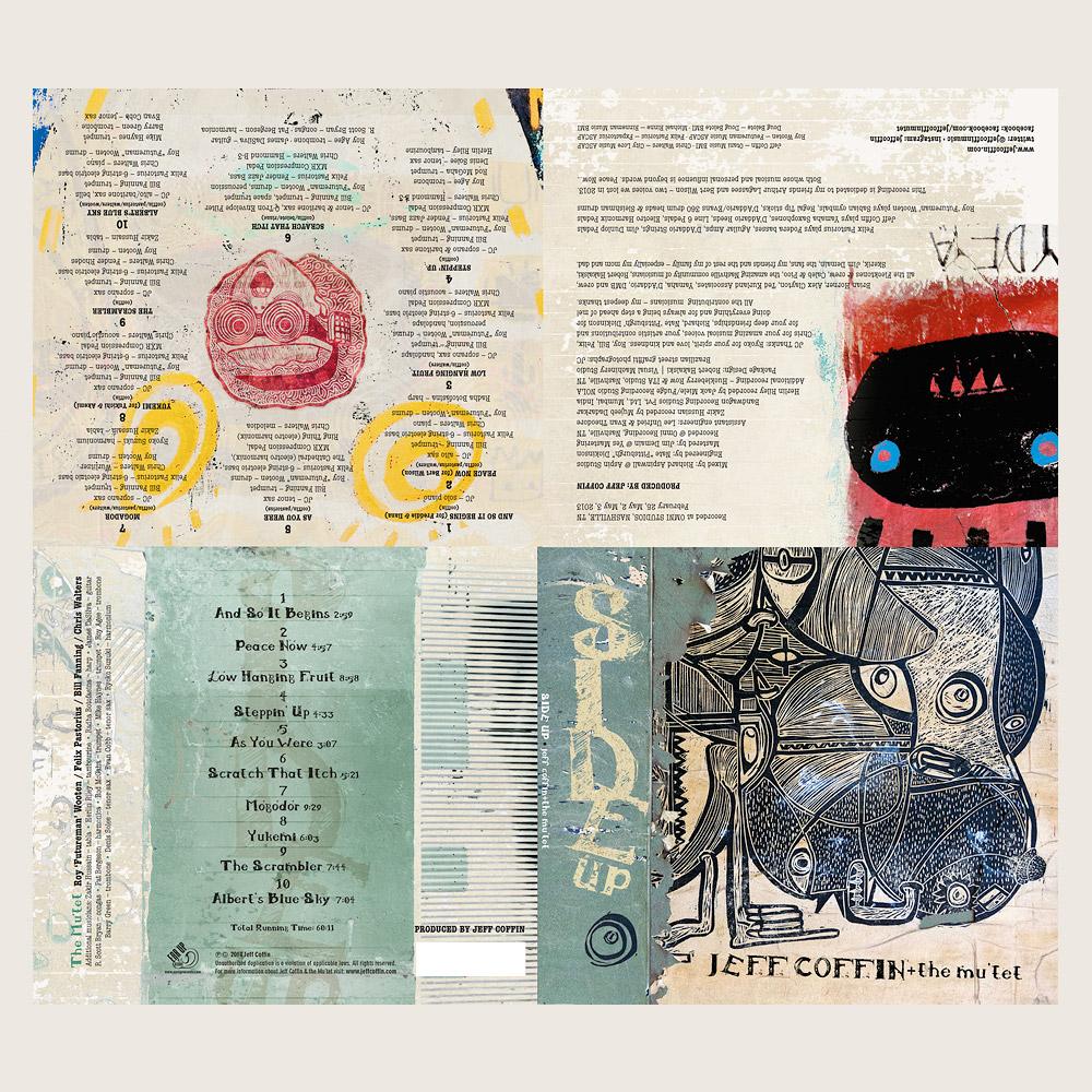JEFF COFFIN | SIDEUP | EARUP RECORDS (CD)