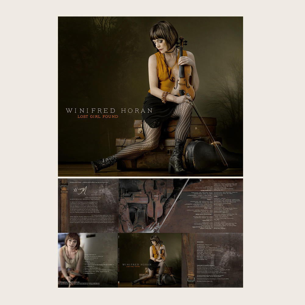 Winifred Horan | Lost Girl Found | Self-released (CD)