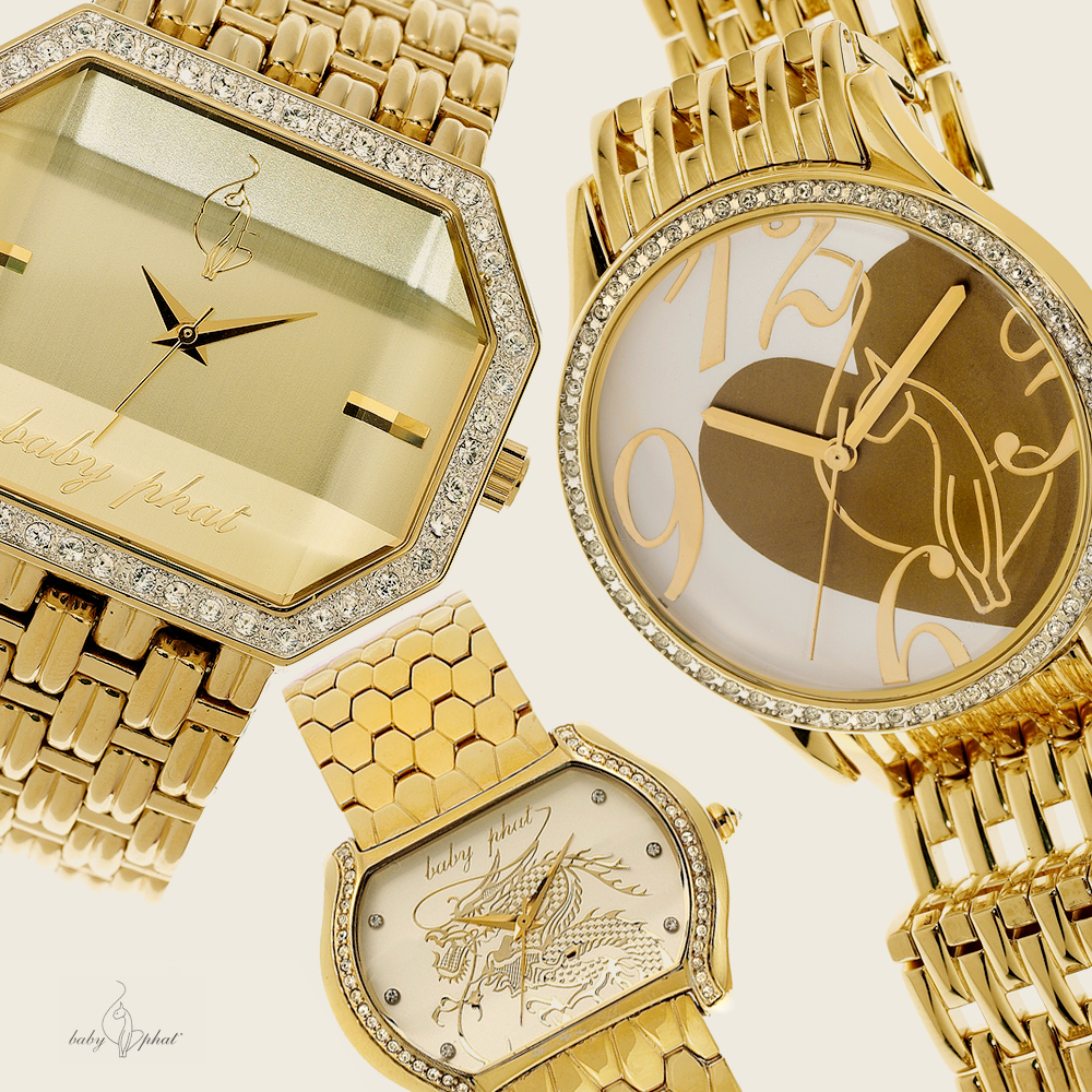 BABY PHAT WATCHES