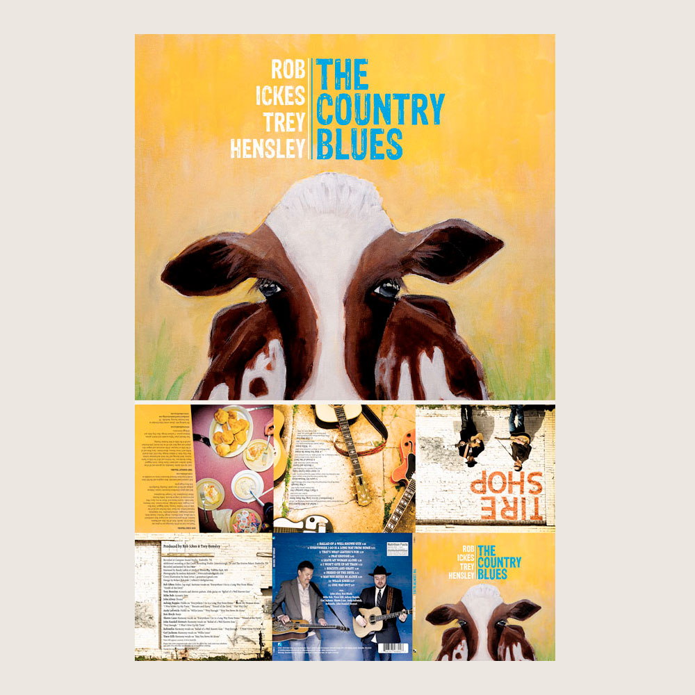 ROB ICKES/TREY HENSLEY | THE COUNTRY BLUES | COMPASS RECORDS (CD)